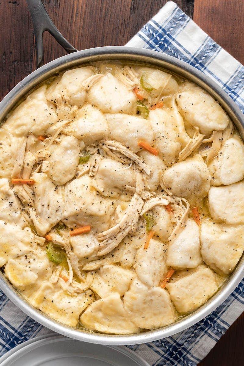 Easy Chicken And Dumplings Recipe Ready In 30 Min