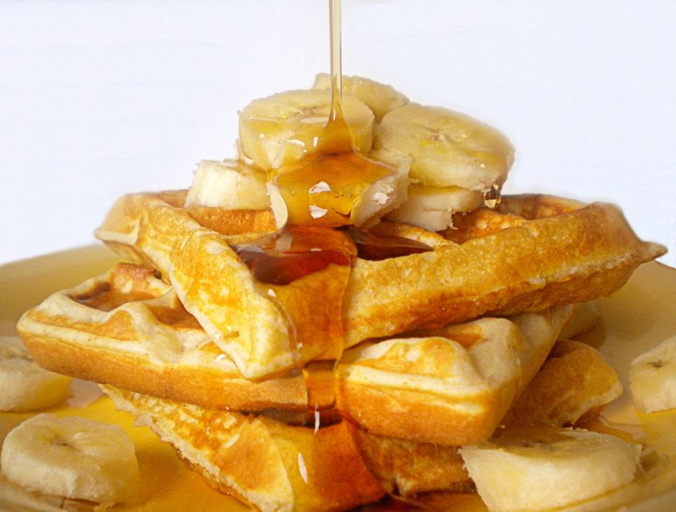 Banana Bread Waffles   The Novice Chef