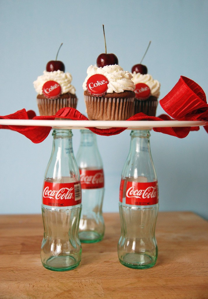 cupcakes cherry coke float cupcakes cherry coke cupcakes ...