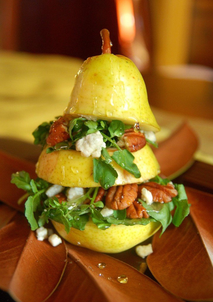 Vertical Pear Salad The Novice Chef
