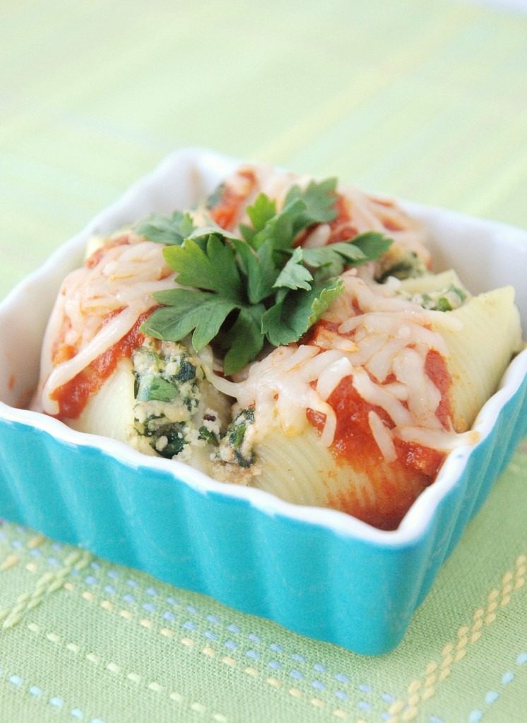 Spinach Stuffed Shells Recipe