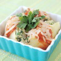 Turkey and Spinach Stuffed Shells Recipe