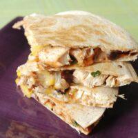 Easy Chicken Quesadillas Recipe