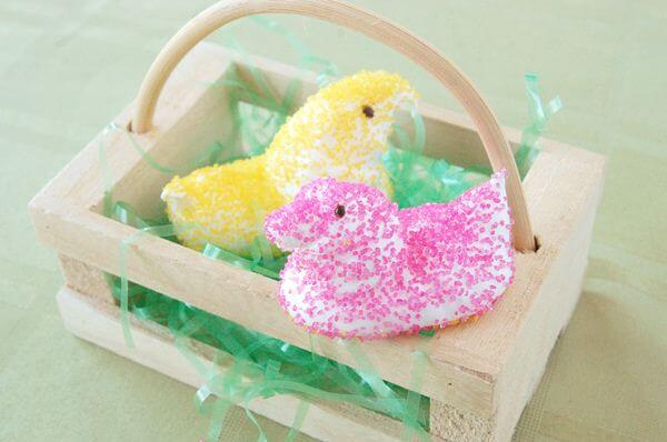 Homemade Marshmallow Peeps Recipe