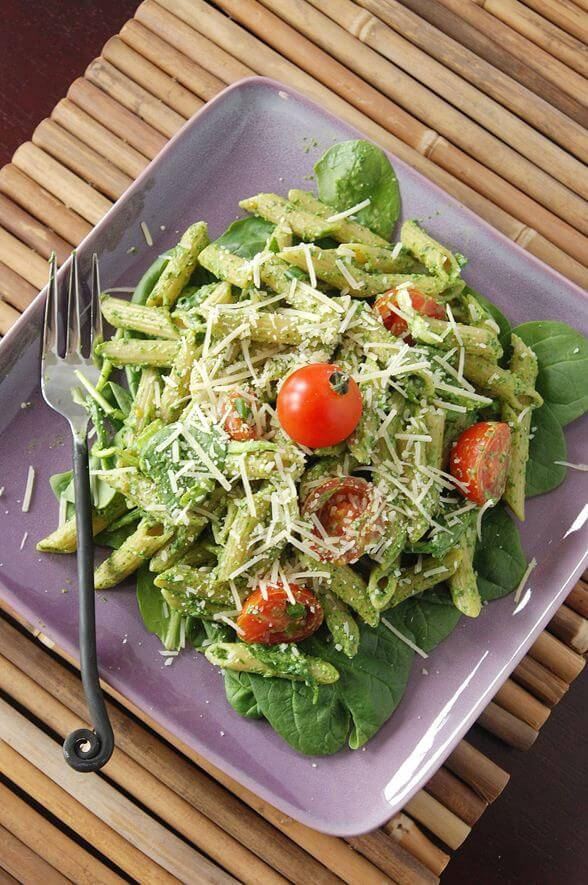 Pesto Pasta Dinner Recipe