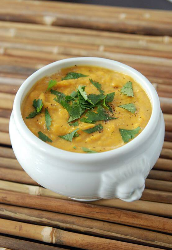 Recipe For Vegetarian Sweet Potato Curry Soup