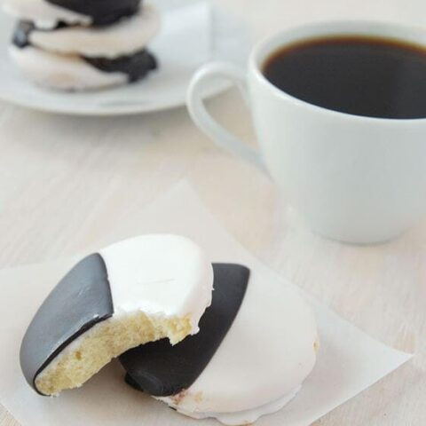 Recipe For Black and White Cookies