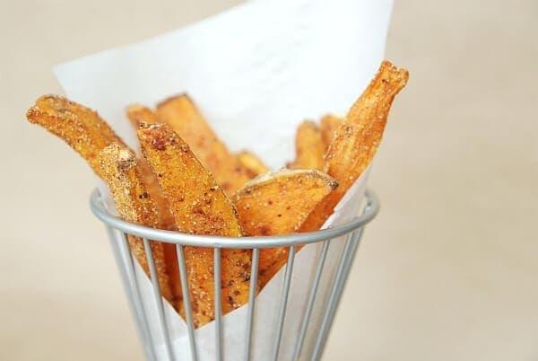 Baked Sweet Potato Fries Recipe