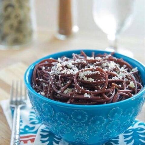 Red Wine Spaghetti Recipe