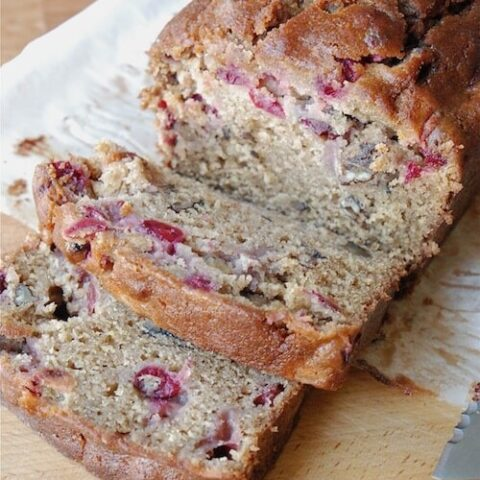 Cranberry Cushaw Squash Bread | Easy Cranberry Bread Recipe For Fall