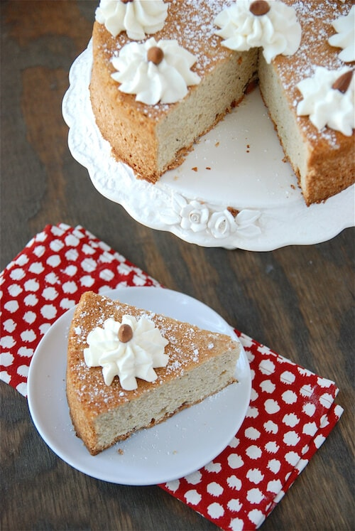 French Almond Cake Recipe