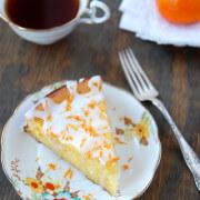 clementine, citrus, dessert, cake, fruit, orange, tangerine