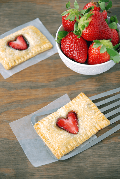 Image result for Strawberry Nutella poptarts