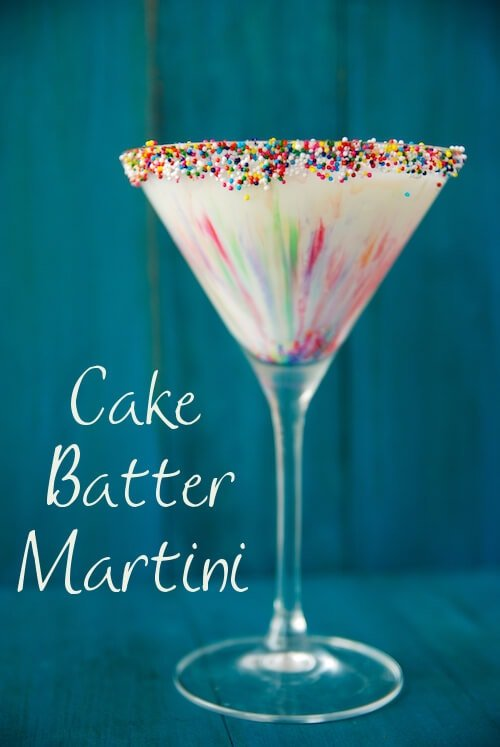 Cake Batter Martini The Novice Chef