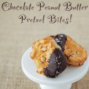 pretzel, chocolate, fast, easy, dessert, peanut butter, sugar, brown sugar