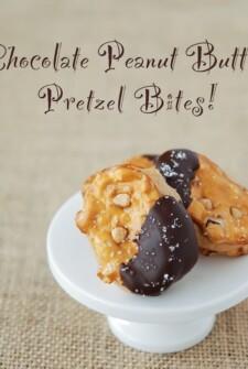 pretzel, chocolate, fast, easy, dessert, peanut butter, sugar, brown sugar