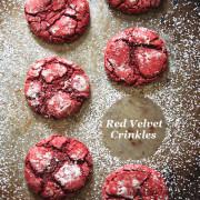 cake mix, dessert, cookie, red velvet, easy, quick