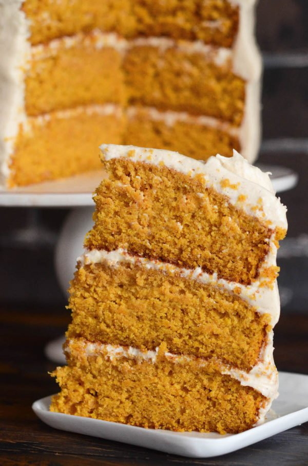 Pumpkin Dream Cake The Novice Chef