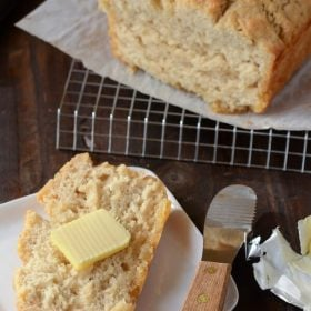 quick, easy, fast, quick bread, easy beer bread, fast beer bread