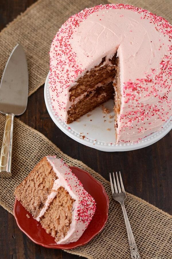 Strawberry Dream Cake from www.thenovicechefblog.com