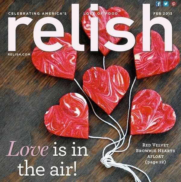 Relish February Cover