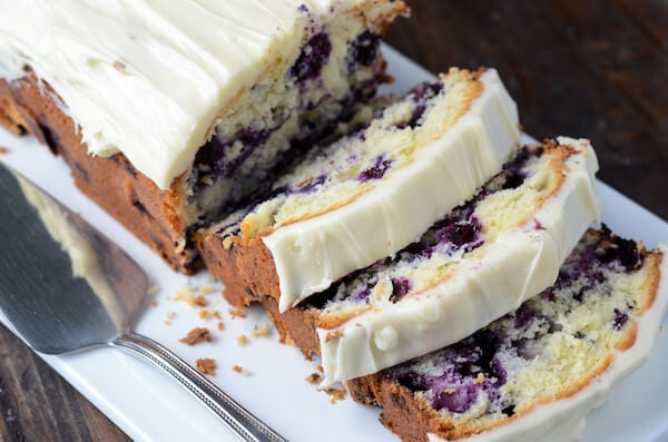 Blueberry Cheese Pound Cake Recipe