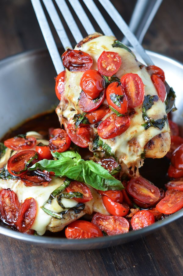 Caprese Chicken The Novice Chef
