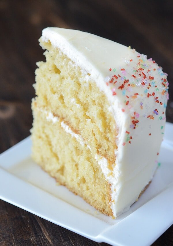 Vanilla Dream Cake Recipe Via Thenovicechefblog Com