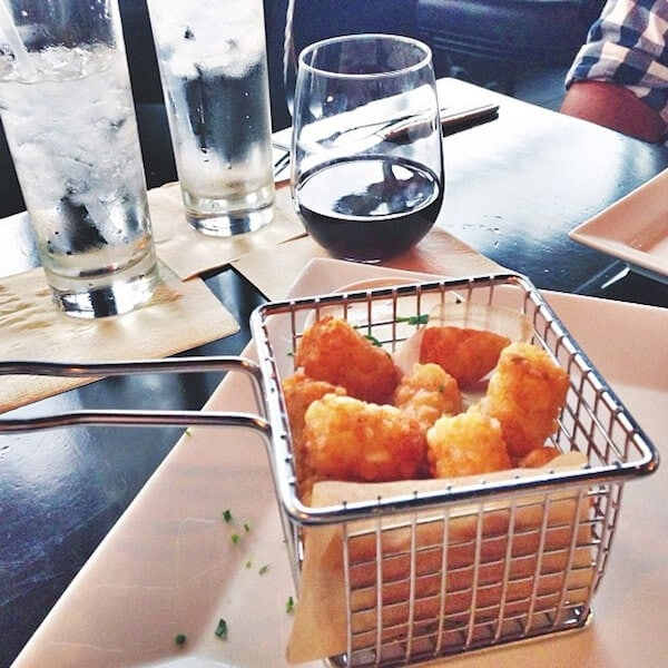 Truffled Tator Tots from Anise Gastro Bar in Tampa