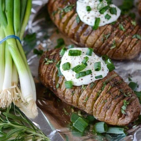 Crispy Rosemary Hasselback Potatoes Recipe