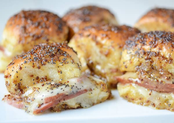 Baked Ham and Cheese Sliders Recipe