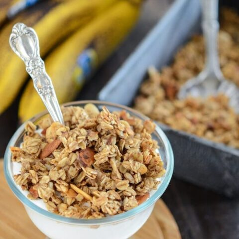Homemade Banana Nut Bread Granola