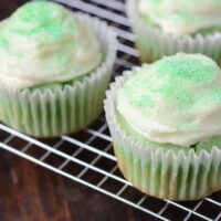 Lime Cupcakes with Cream Cheese Frosting Recipe