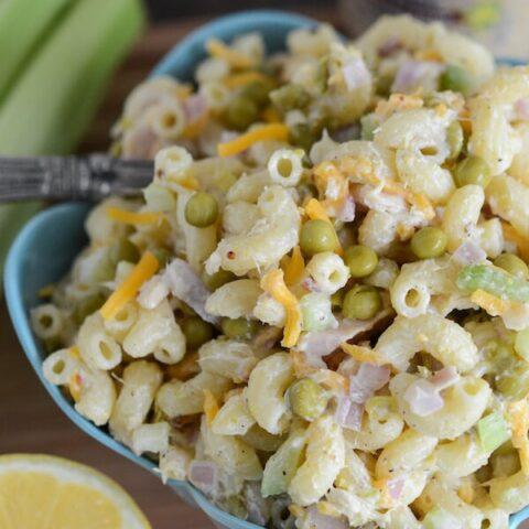 Cold Tuna Pasta Salad Recipe