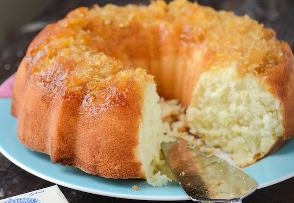 Coconut Rum Cake Recipe Easy