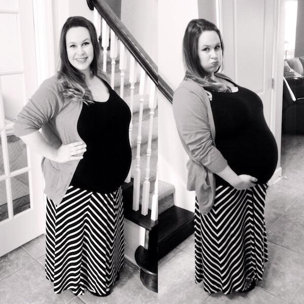 Baby Bumb 33 Weeks