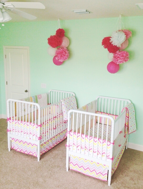 Ellie & Lyla's Nursery www.thenovicechefblog.com