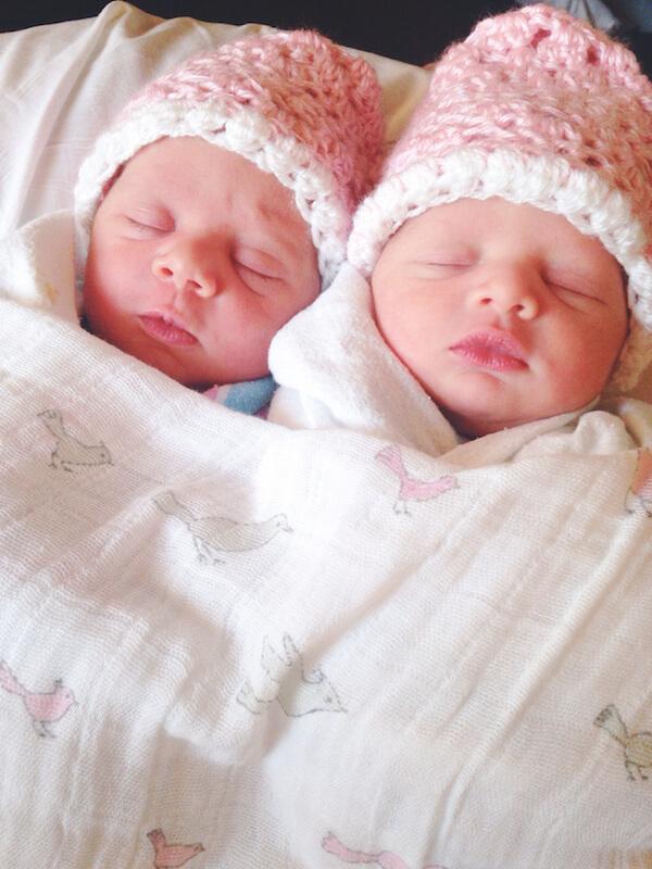 Ellie & Lyla Segarra 08:15:2014