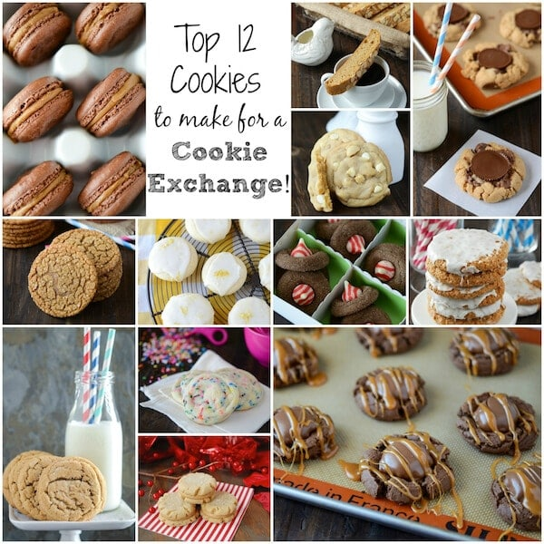 Top 9 Cookies for a Cookie Exchange!  The Novice Chef