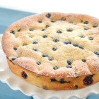 Blueberry and Lemon Sour Cream Cake Recipe