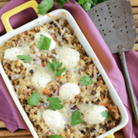 Cheesy Beef and Orzo Casserole | Easy Ground Beef Casserole Recipe