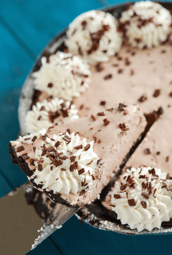 Frozen Mocha Pie 7 sm