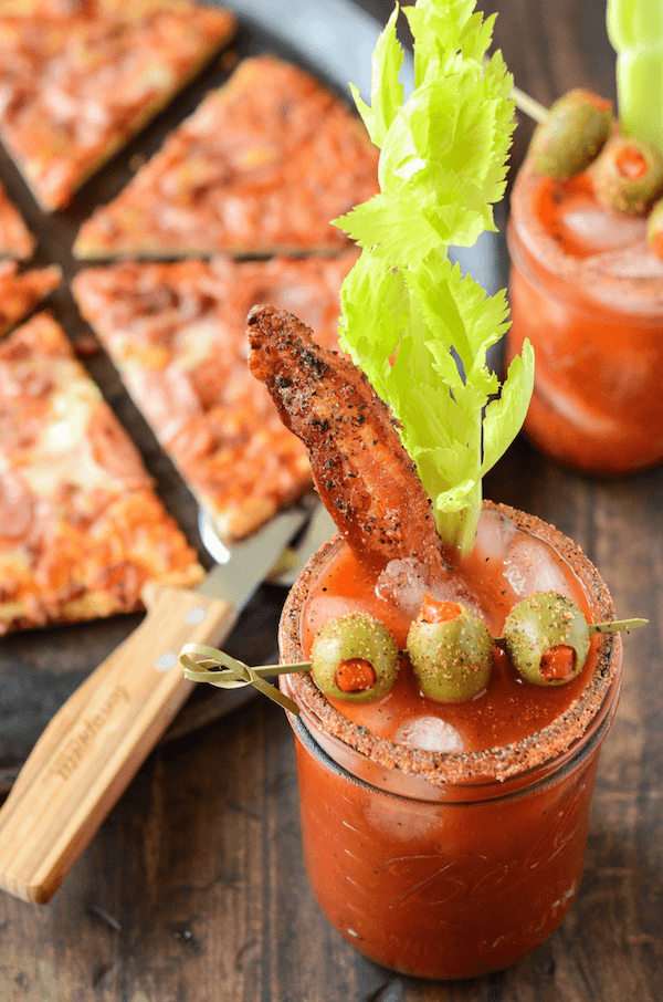 Spicy Bacon Bloody Mary Recipe Easy Spicy Bloody Mary Mix Recipe