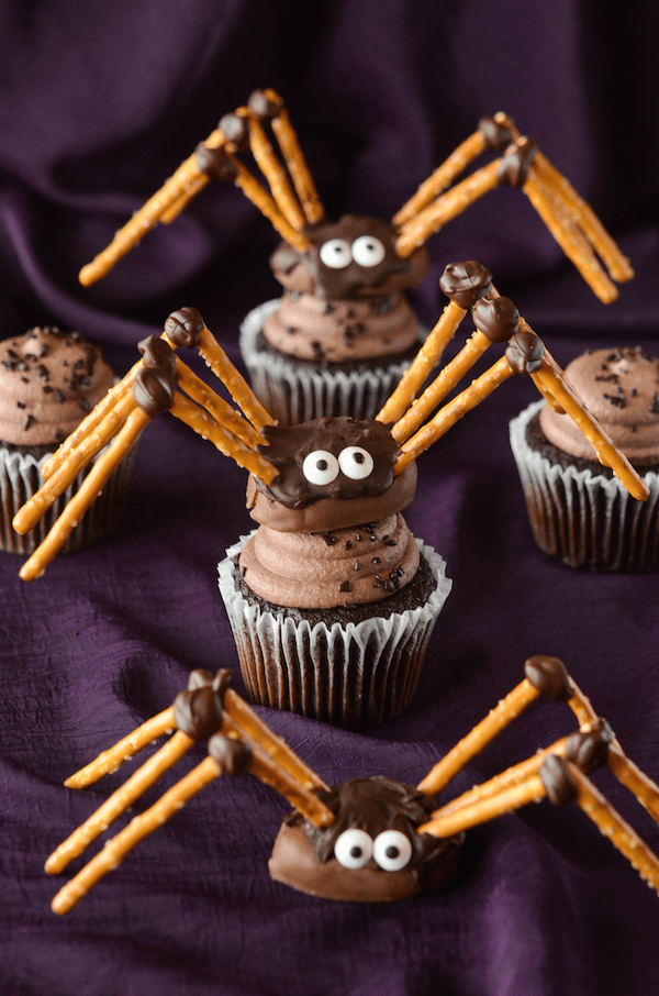 Diy Pretzel Amp Chocolate Spiders The Novice Chef