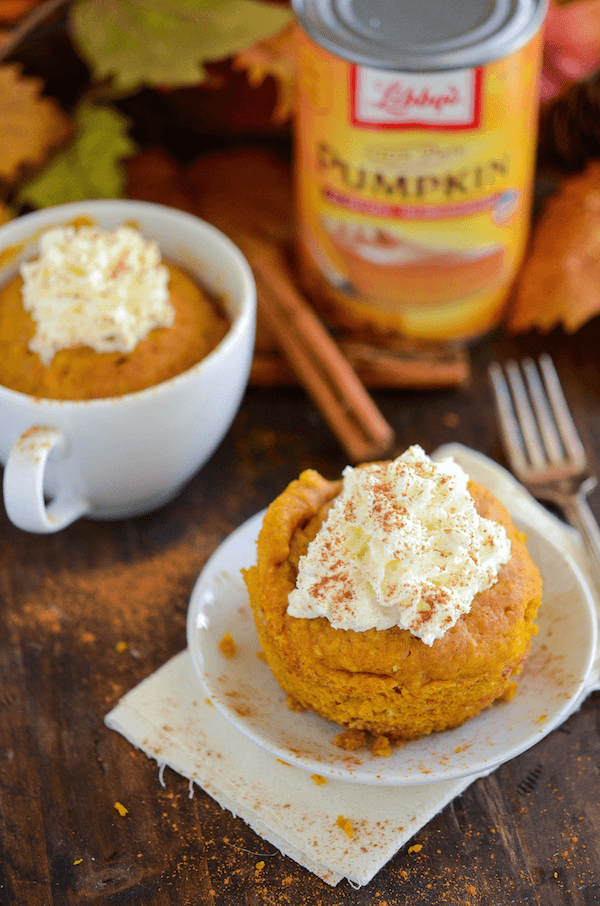 The Best Pumpkin Mug Cake!