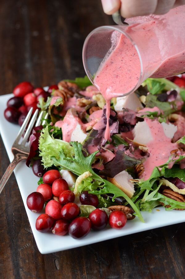 10 Must Make Thanksgiving Recipes: Turkey Cranberry Salad