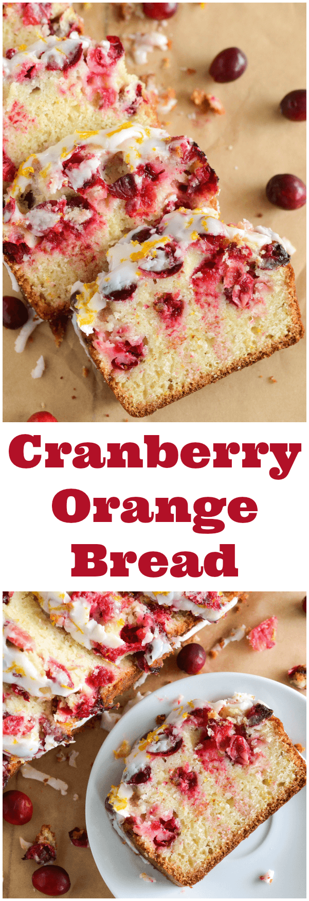 Cranberry Orange Bread!