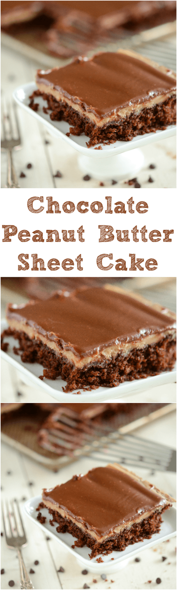 Texas Sheet Cake Vanilla Banana