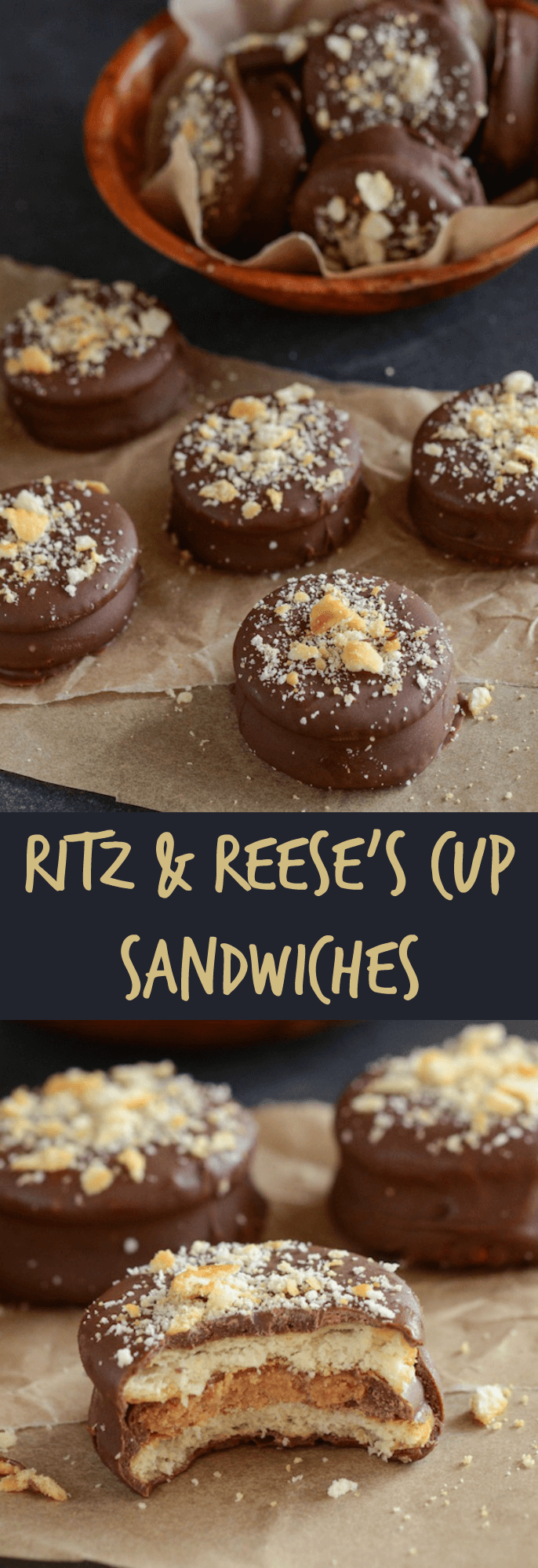 Ritz Reese S Cup Sandwiches The Novice Chef