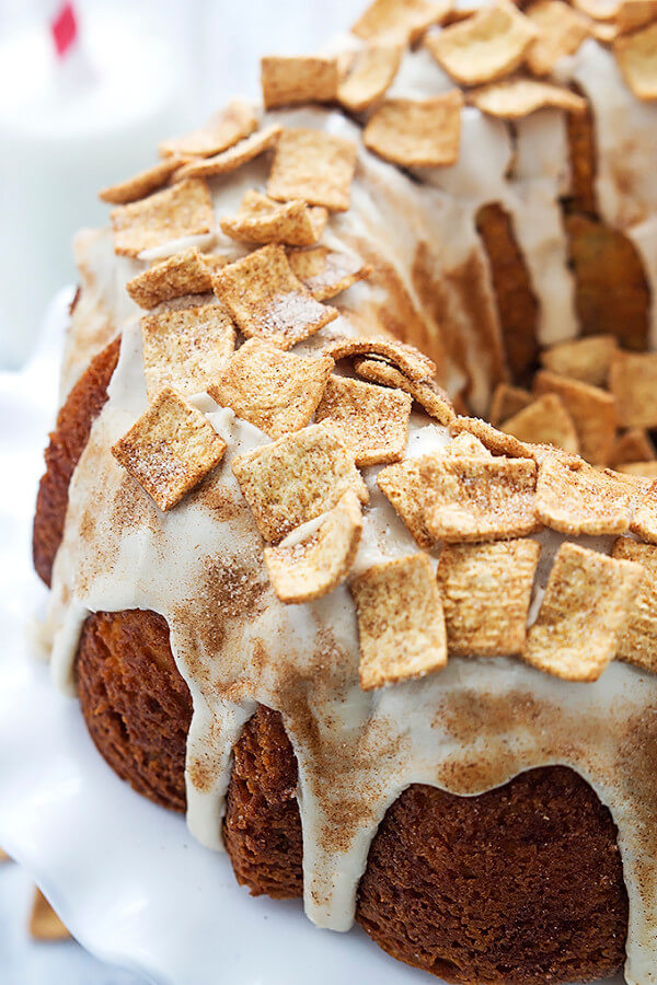 Cinnamon Toast Crunch Ice Cream Cake Recipe